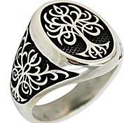 abordables -arbre de vie bague en argent sterling 925 bijoux turcs pour hommes (10.5)
