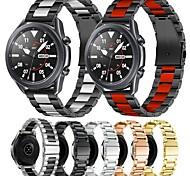 economico -Cinturino intelligente per Samsung Galaxy 1 pcs Banda di affari Acciaio inossidabile Sostituzione Custodia con cinturino a strappo per Gear S3 Frontier Gear S3 Classic Samsung Galaxy Watch 46 Galaxy