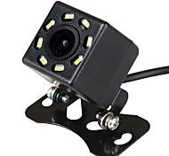abordables -Caméra de recul de voiture ziqiao universel étanche vision nocturne hd caméra de recul de stationnement hs012