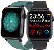 abordables -QS19 Smartwatch Montre Connectée pour Android iOS Samsung Apple Xiaomi Bluetooth 1.54 pouce Taille de l'écran IP 67 Niveau imperméable Imperméable Ecran Tactile Moniteur de Fréquence Cardiaque Mesure