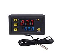 abordables -régulateur de température thermostat double led régulateur de température numérique détecteur température compteur refroidisseur de chaleur