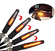 economico -2pcs 12v 12led luci scorrevoli universali moto moto led indicatori di direzione luce acqua che scorre