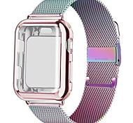 economico -Cinturino intelligente per Apple  iWatch 1 pcs Cinturino a maglia milanese Acciaio inossidabile Sostituzione Custodia con cinturino a strappo per Apple Watch  6 / SE / 5/4/3/2/1