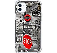 abordables -Imprimés Photos Cas Pour Apple iPhone 12 iPhone 11 iPhone 12 Pro Max Modèle unique Étui de protection Antichoc Coque TPU