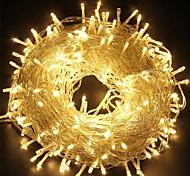 abordables -100m de décoration de Noël guirlandes lumineuses 800leds 328ft lumières LED 8 modes étanche intérieur extérieur arbre de noël décoration de chambre de mariage