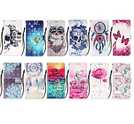 economico -telefono Custodia Per Samsung Galaxy Integrale Custodia in pelle Custodia flip S10 A21s Galaxy A42 5G Con chiusura magnetica Floreale pelle sintetica