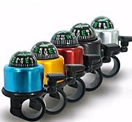 economico -campanello per bicicletta 5 colori mini campanello per bici in lega di alluminio forte nitido suono chiaro anello per bici accessori per corno (oro)