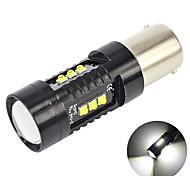 abordables -otolmpara 1 pièce voiture led brouillard drl ampoule 1156 spécial pour hyundai kona / veloster / santa fe / accent / mitsubishi mirage / diamante / audi a3 a4 a6 super lumineux ba15s led ampoule 45w