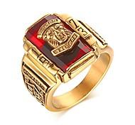 economico -anello placcato oro acciaio inossidabile strass 1973 anello con sigillo walton tigers per uomo