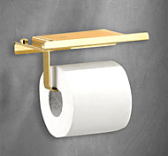 abordables -Porte Papier Toilette Nouveau design / Frais Moderne Acier inoxydable 1 pc Montage mural