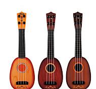 abordables -Mini guitare Instruments de Musique Guitare Musique Plastique Fille Enfant Cadeaux de fin d'études Jouet Cadeau
