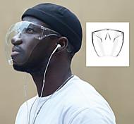 economico -1 confezione visiera maschera protettiva trasparente imitazione maschera isolante copertura integrale visiera riutilizzabile protezione per il viso e scudo per la bocca