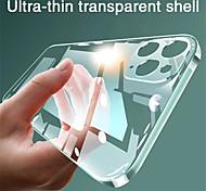 economico -telefono Custodia Per Apple Per retro iPhone 12 Pro Max 11 SE 2020 X XR XS Max 8 7 Transparente Transparente TPU