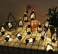 abordables -guirlande de lumière LED guirlande ramadan festival rétro lampe au kérosène cordes eid al-fitr décoration de la maison guirlande lumineuse pour chambre fête café