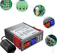 abordables -STC-3028 contrôleur numérique d'humidité de la température maison réfrigérateur thermostat humidistat thermomètre hygromètre interrupteur de commande
