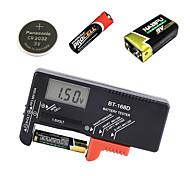 abordables -outil de diagnostic de capacité de batterie numérique testeur de batterie écran lcd testeur de pile bouton universel aaa aa