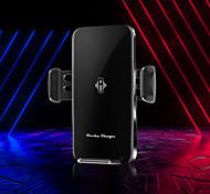 abordables -A9 support de téléphone portable intelligent dans la voiture support 10w port usb chargeur de voiture de charge rapide sans fil compatible pour tous les smartphones