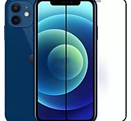 economico -telefono Proteggi Schermo Apple iPhone 12 iPhone 12 Pro Max iPhone 12 Pro iPhone 12 Mini Vetro temperato 2 pz Alta definizione (HD) Durezza 9H Anti-graffi Proteggi-schermo frontale Appendini per