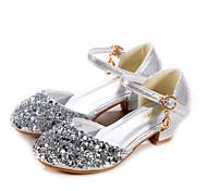abordables -Fille Chaussures à Talons Mocassin Chaussures de Demoiselle d'Honneur Fille Chaussures de princesse Cuir Verni Polyuréthane Petits enfants (4-7 ans) Grands enfants (7 ans et +) Quotidien Soirée