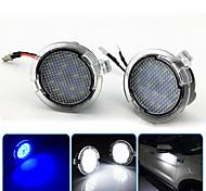 abordables -2 pcs 2 W 12 V 6500 K LED Sous Rétroviseur Latéral Flaque D'eau Pour Ford Edge Fusion Flex Explorer Mondeo Taurus F-150 Expédition