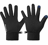 economico -guanti da corsa da uomo guanti invernali caldi touch screen per guidare in bicicletta con slilicon antiscivolo m