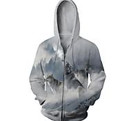 abordables -Sweat-shirt à capuche personnalisé unisexe à capuche en 3D, petit