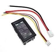 abordables -DC 0-100V 10A voltmètre numérique ampèremètre double affichage détecteur de tension compteur de courant panneau amp volt jauge