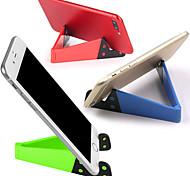 abordables -Accroche Support Téléphone Bureau Téléphone Portable Support Ajustable Type de boucle ABS Accessoire de Téléphone