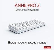 abordables -anne pro 2 pro2 60% 61 touches nkro bluetooth 5.0 type-c rgb clavier de jeu mécanique interrupteur cerise interrupteur gateron interrupteur kailh