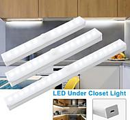 economico -Lampadina a led da cucina da 21 cm sensore di movimento pir lampada da parete senza fili luce ricaricabile a led per armadio per armadio scale armadio letto luce