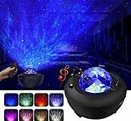 abordables -projecteur étoile projecteur de galaxie projecteur de ciel étoilé avec télécommande nébuleuse nuage en mouvement projecteur d'onde océanique avec haut-parleur bluetooth pour chambre / décoration / anniversaire / fête