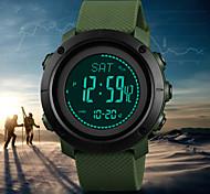 economico -orologio da uomo bussola, orologio sportivo digitale contapassi altimetro barometro temperatura orologio da polso militare impermeabile per uomo donna