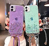 economico -telefono Custodia Per Apple Per retro iPhone 12 Pro Max 11 SE 2020 X XR XS Max 8 7 Glitterato Cielo Glitterato TPU