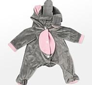 abordables -Vêtements de poupées Reborn Baby Accessoires de poupée Reborn Tissus pour 20-22 pouces Reborn Doll Poupée Reborn Non Incluse Doux Pur fait main Garçon Fille 1 pcs