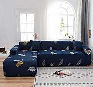 abordables -feuille impression 1 pièce housse de canapé housse de canapé protecteur de meubles doux extensible canapé housse spandex jacquard tissu super fit pour 1 ~ 4 canapé coussin et canapé en forme de l,