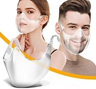 abordables -Écran facial nouveau masque d'isolation de protection en plastique anti-chute anti-épidémique anti-buée tête porter un masque transparent