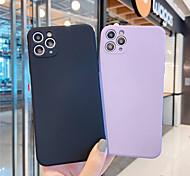 economico -telefono Custodia Per Apple Per retro Silicone Custodia in silicone iPhone 12 Pro Max 11 SE 2020 X XR XS Max 8 7 Resistente agli urti Tinta unica Silicone