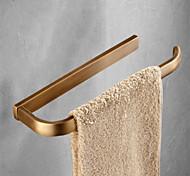 abordables -Barre porte-serviette contemporain Laiton 1 pièce - Bain d'hôtel Barre à 1 serviette