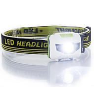 abordables -Lampes Frontales 500 lm 3 Mode LED Légère Résistant à la poussière Camping/Randonnée/Spéléologie Usage quotidien Cyclisme Chasse