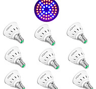 abordables -10 pcs LED Verlichting 48LED Phyto Lampe Plante Lumière E27 LED Cultiver La Lumière Fitolamp E14 LED Lampe Pour Les Plantes