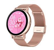 abordables -DT88pro Smartwatch Montre Connectée pour Android iOS Samsung Apple Xiaomi Bluetooth 1.3 pouce Taille de l'écran IP 67 Niveau imperméable Imperméable Ecran Tactile Moniteur de Fréquence Cardiaque