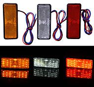 economico -Motocicletta / Auto LED Fanale posteriore Lampadine 2.4 W Per Moto / Universali Tutti gli anni 2 pezzi