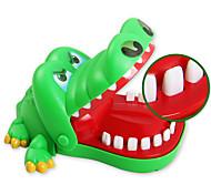 abordables -Jeux de Société Gadget de blague pratique ABS Crocodile Professionnel Nouveautés Enfant Adulte Garçon Fille Jouets Cadeaux