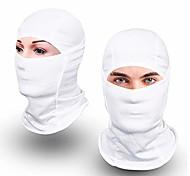 abordables -cagoule masque facial protection uv pour hommes femmes ski pare-soleil masques tactiques (blanc, 2)