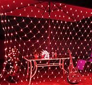 economico -6x4m luci stringa netta 880 led luci stringa rete da pesca bianco caldo bianco freddo multi colore impermeabile festa albero di natale matrimonio patio decorazioni per la casa decorazione d'interni