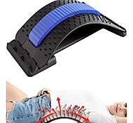 abordables -civière dorsale, dispositif d'étirement lombaire avec 3 réglages réglables, dispositif de soulagement de la douleur lombaire du dos pour le soulagement de la douleur du haut et du bas du dos,