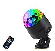 abordables -Son activé rotatif boule disco lumières de fête lumière stroboscopique USB LED lumières de scène pour noël maison ktv spectacle de mariage de noël