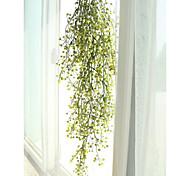abordables -plantes artificielles vigne maison décoration murale fête de mariage fleurs artificielles plantes décor de vigne