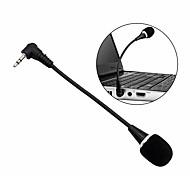 economico -mini microfono 3.5mm jack plug microfono audio cablato per computer laptop notebook tablet pc microfono flessibile