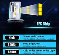 abordables -otolampara paire de modèle d'éclairage de phare d'usine de voiture oem faisceau 100w phare led h7 h8 9005 super lumineux ip68 étanche dissipation thermique 100% aluminium phare led h4 couleur blanche